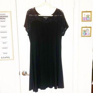 Woman's plus size Lane bryant dress black 14 16